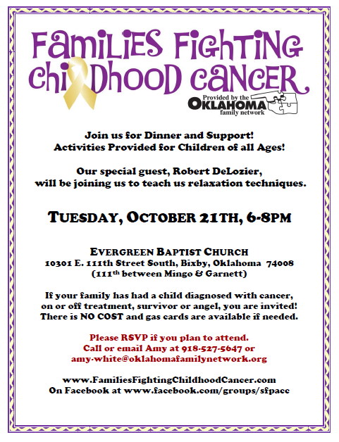 Support Group Flier - Oct2014